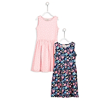 Multicoloured Fashionable Dress Set