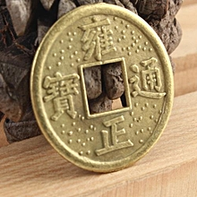 Brass Chinese Feng Shui Fortune Wealth Coins Lot