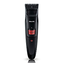 QT4005 Beard & Stubble Trimmer Series 3000 - Black & Red