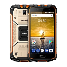 Ulefone Armor 2 Triple Proofing Phone, 6GB+64GB, IP68 Waterproof Dustproof Shockproof, Fingerprint Identification, 5.0 inch Sharp Android 7.0 MTK Helio P25 Octa Core 64-bit up to 2.6GHz, Network: 4G, NFC, OTG, Dual SIM(Gold)