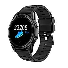 R13 Wristwatch Men Heart Rate Monitor Sport Smart Watch Band Fitness Tracker Black