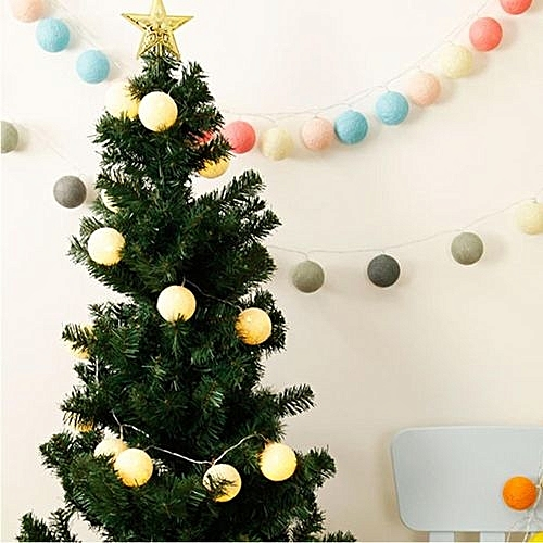 Buy Universal 20 Pastel Cotton Ball Battery Operated String Lights