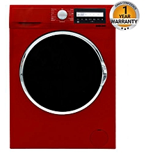 BWM-FL100R - Full Automatic,10 KGS Wash - Front Load Washing Machine - Red
