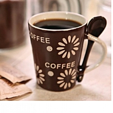 Coffee Gift Mug-Coffee Brown