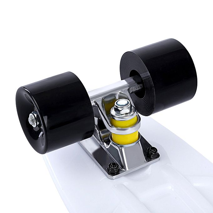 Generic 22 inch four wheel long skateboard retro style pp for Decking boards 6m long
