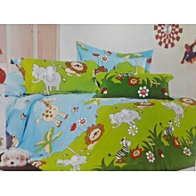 4PC Kids Cartoon Duvet Set - 4x6 - Multicolored
