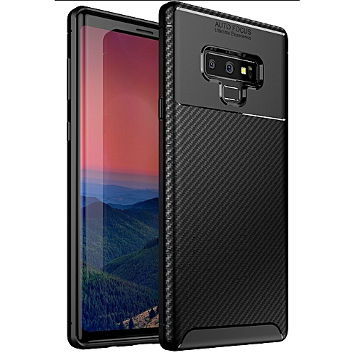 huge sale 3e700 fcf21 Samsung Galaxy Note 9(Samsung Galaxy Note9) Silicone Case TPU Anti-knock  Phone Back Cover - Black.