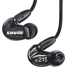 Shure SE215 Sound Isolating Earphones with Single Dynamic MicroDriver (Black) BDZ
