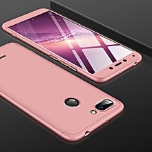 GKK Three Stage Splicing Full Coverage PC Case for Xiaomi Redmi 6 (Rose Gold)