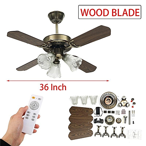 Buy Generic Smuxi 36 Inch Led Ceiling Fan For Living Room Ceiling