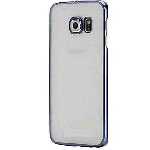 newest 8fc8b 92bd3 Back Case Cover Galaxy S7 Edge - Transparent Black