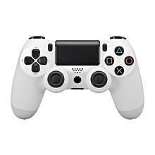 Bluetooth Wireless PS4 Controller for PS4 Vibration Joystick Gamepad PS4 Game Controller Color:White BDZ