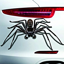 Halloween Car Wall Home 3D Spider Sticker Mural Decor Decal Removable Terror New