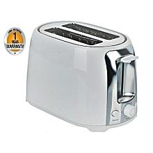 Two Slice Bread Toaster - White