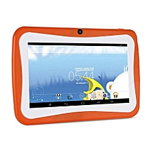 7' Kids Tablet PC 1.5GHZ Quad Core 8GB WIFI Android Tablet 1024x600 Screen-orange