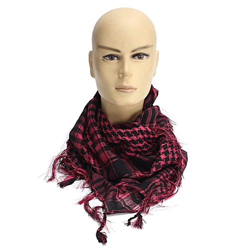 Generic Lightweight Military Women Men Unisex Arab Shemagh Keffiyeh Scarf  Shawl Wrap hot pink HOT 987ffc928