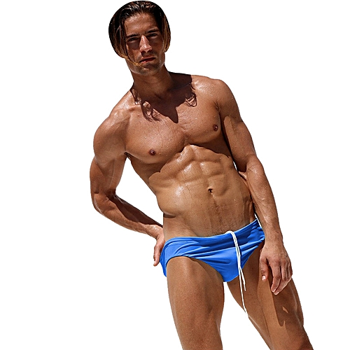 6b3c186f28 Generic AQUX-54 Fashion Men Sexy Low Waist Tight Beach Swimwear Swimming  Trunks Swimsuit Briefs Underpants