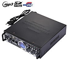 AK-901 Stereo Audio Karaoke Power Amplifier with Remote Control, Support SD Card / USB Flash Disk(Black)