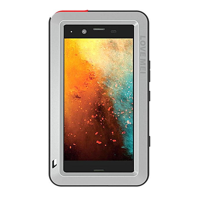 outlet store sale d56f6 a2d3e Xperia XZ1 Compact Waterproof Case, Shockproof Snowproof Dustproof Durable  Aluminum Metal Heavy Duty Full-body Protection Case Cover for Sony Xperia  ...