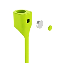 BASEUS Magnetic Anti-lost Sports Pure Silicone Strap for Apple AirPods - Green FCJMALL