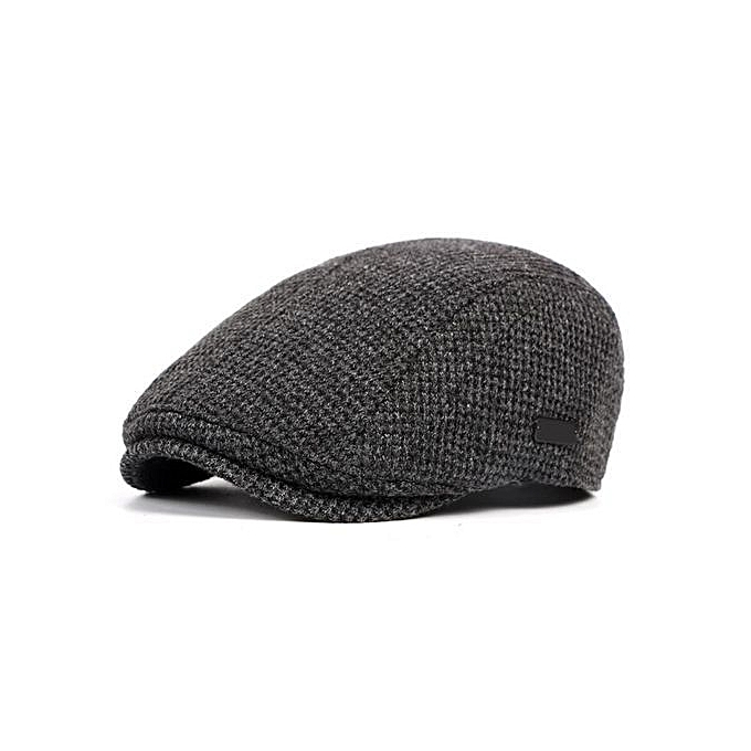 Fashion Mens Cotton Gatsby Flat Beret Cap Adjustable Ivy Hat Golf Hunting Driving Cabbie Hat