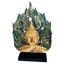 Buddha Head with Bai Pho