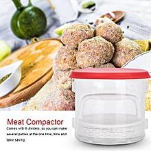 Plastic Patty Hamburger Meat Compactor Press Maker Burger Mold Kitchen DIY Tool Gadget