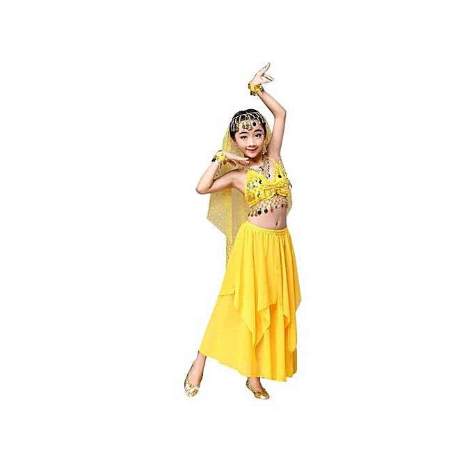 2c86c8f81 Eissely Kids  Girls Belly Dance Outfit Costume India Dance Clothes ...