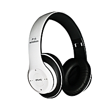 P15 Wireless Bluetooth 4.2 Stereo Headphone Headset Earphone For Mobile Phones -White