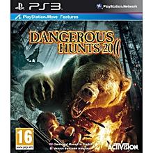 PS3 Game Dangerous Hunts 2011