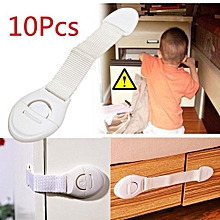 10pcs Child Infant Baby Kids Drawer Door Cabinet Cupboard Toddler Safety Lock