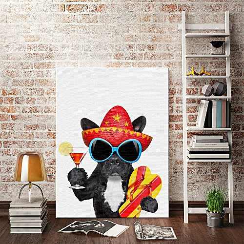 Buy Generic Dog Indoor Able Quotes Wall Decals Photo Painting Framed ...