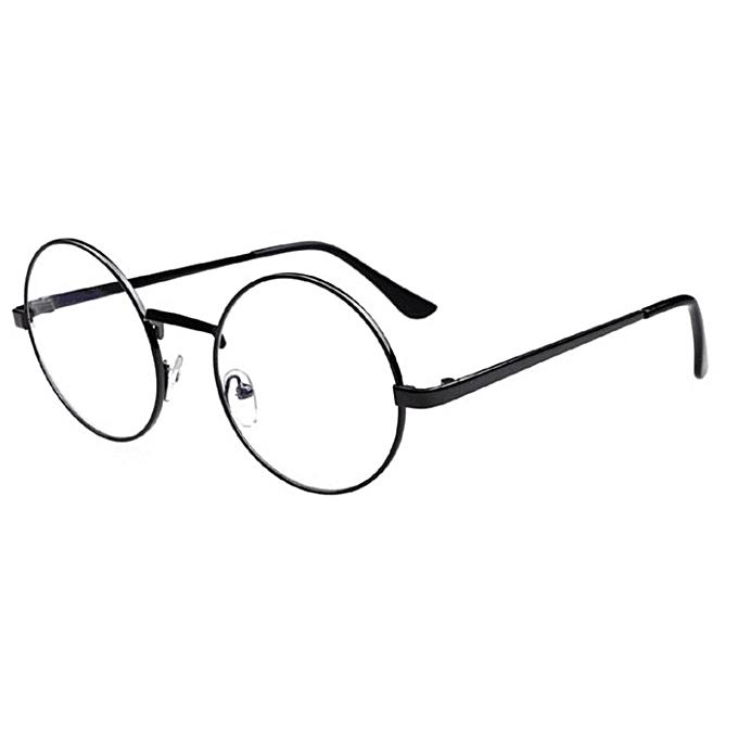 56c3df681ff Women Men Casual Retro Ground Reading Glasses Frame Myopia Optical Glasses  ...