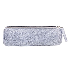 Large Capacity Storage Student Stationery Pencil Case School  Felt Pouch
