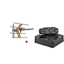 GOtv Digital Set Box Decoder With FREE GOTV  Aerial- - Black