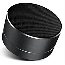 A10 TechnoPortable Wireless Bluetooth Speaker (Black)