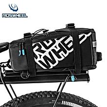5L Nylon Waterproof Mountain Bike Road Bicycle Bag Cycling Rear Rack Tail Seat Pannier