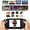 """PAP II Plus 4.3"""" Handheld Game Player 64Bit PMP PSP Built-In MP4 MP5 Video Game Consoles-White"""