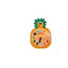 Clock Insert - Lion - Brown & Green