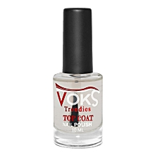No. 1001 Nail Polish Colourless TOP COAT - 10ml