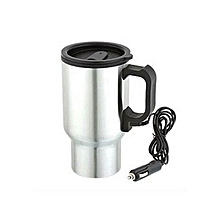 Electric Mug - 12v Car Mug - Stainless Steel