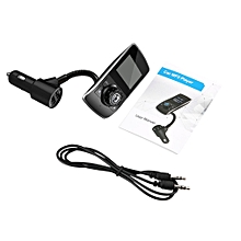 Wireless In-Car Bluetooth FM Transmitter Radio Adapter Car Kit USB Charger
