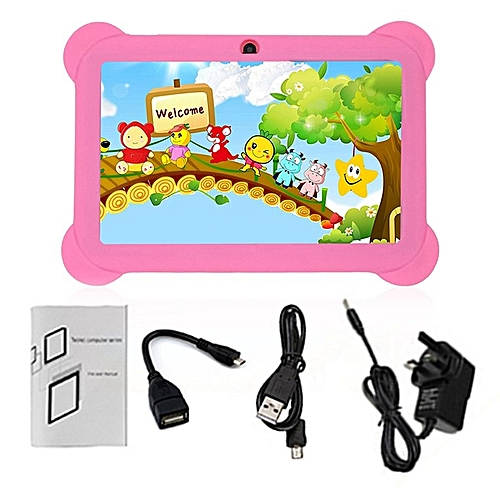 HP Q88 7 Inch Touch Screen Children Tablet 512MB 8GB UK Plug Pad