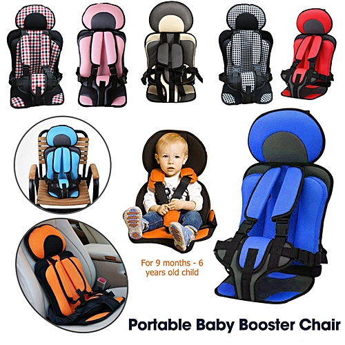 Portable Safety Baby Car Seat Infant Convertible Booster 0 6 Years Child Chair