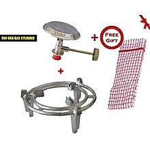 Meko 6kg Cooking Gas Grill + Gas Burner + FREE Gift