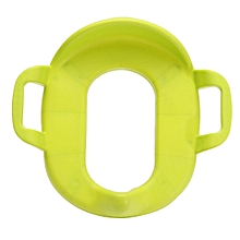 Handles Toilet Seat Potty Cushion Baby Toddler Padded Soft Children Training Kid green
