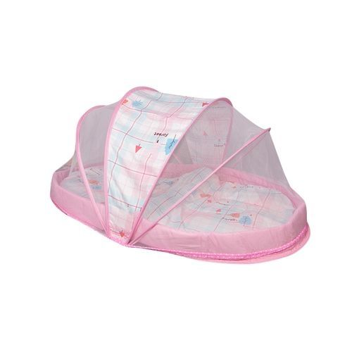Large Unique new design baby nest / Mosquito net - Pink .