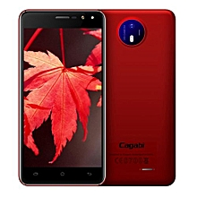 Vkworld Cagabi One 5.0-Inch Android 6.0 OTA 1GB RAM 8GB ROM MT6580A Quad-Core 1.3GHz 3G Smartphone Red