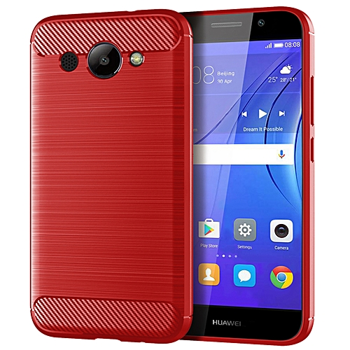 purchase cheap 024a9 6c8c8 HUAWEI Y3 2018 Case Cover, Rugged case,Soft TPU material