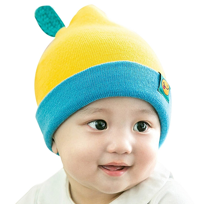 afc99cf182b ... jiuhap store Cute Toddler Kids Girl Boy Baby Infant Winter Warm Crochet  Knit Hedging Cap YE ...